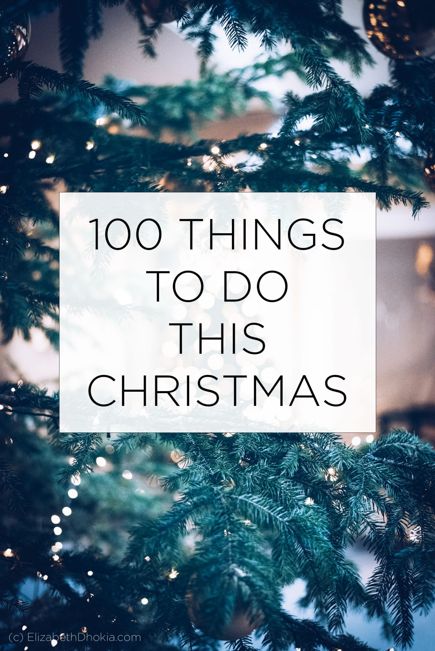 100 Things To Do At Xmas