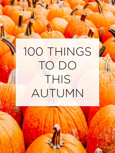 100 Things To Do This Autumn List
