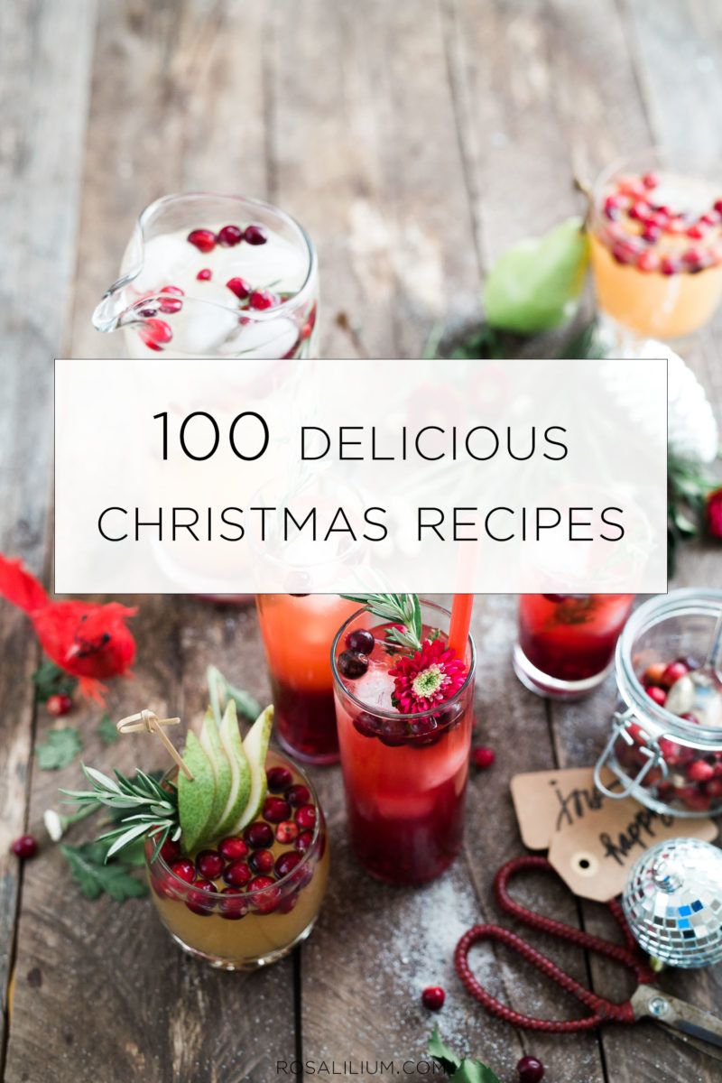 100 delicious christmas recipes