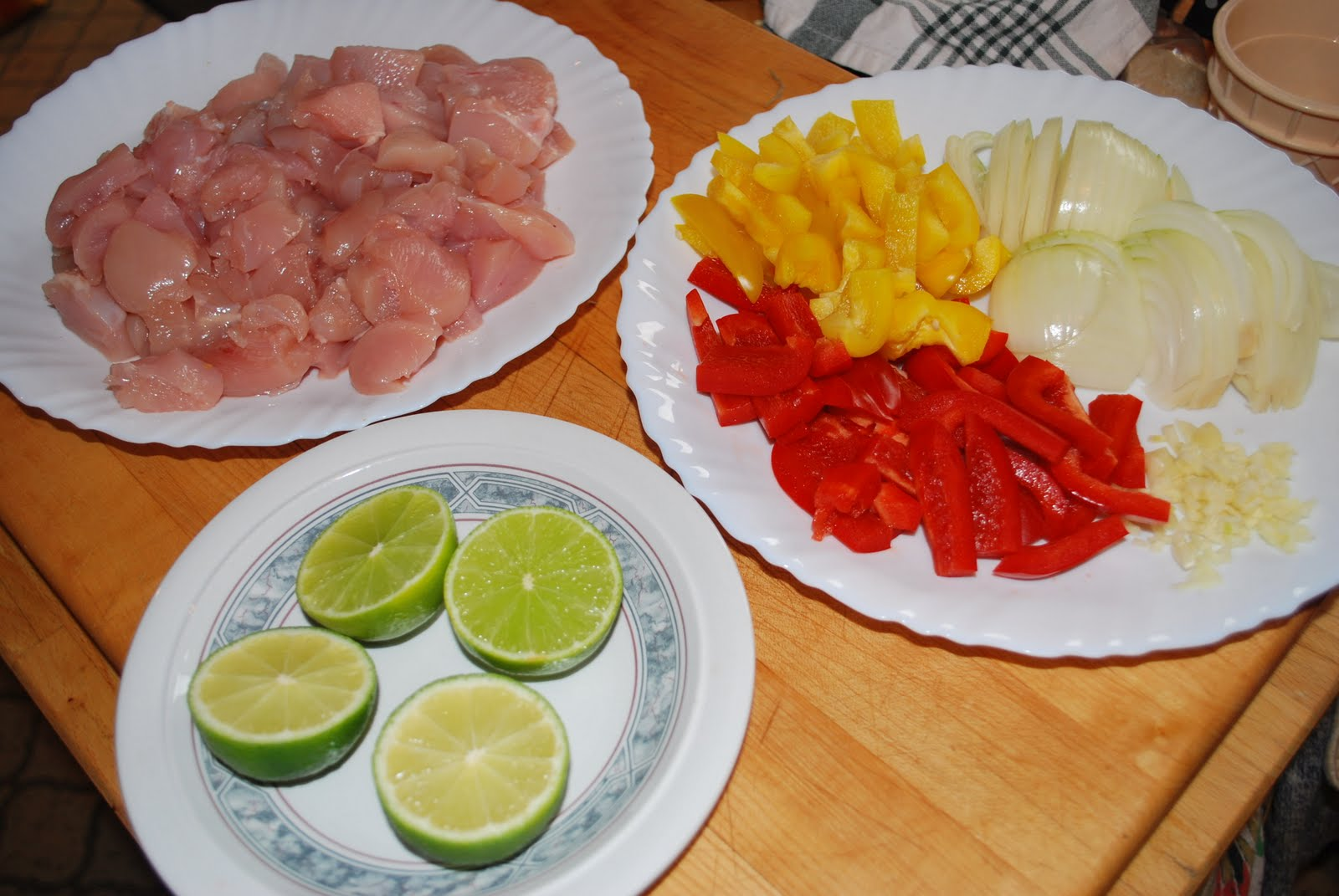 fajitas ingredients