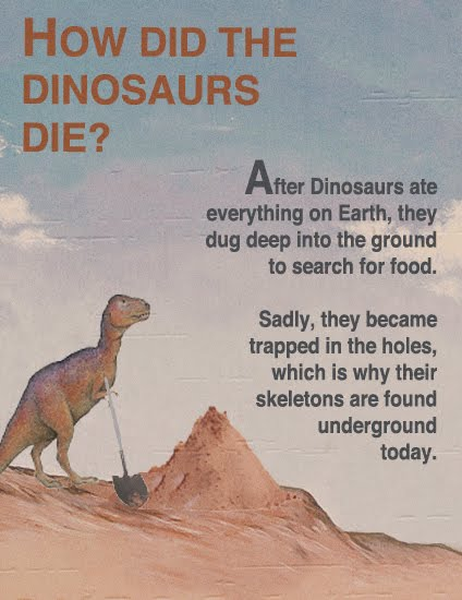 fake science dinosaurs