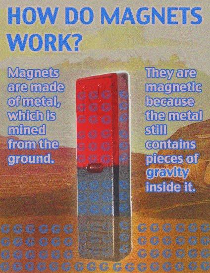 fake science magnetsw