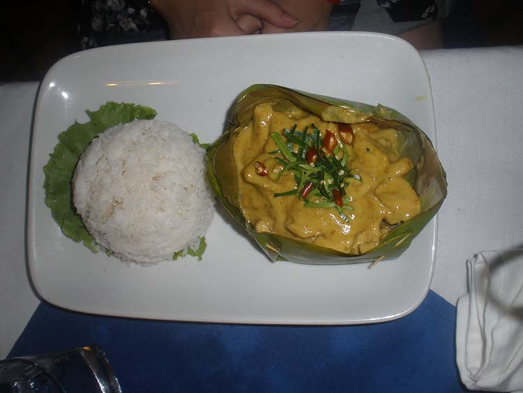 travel cambodian amok curry