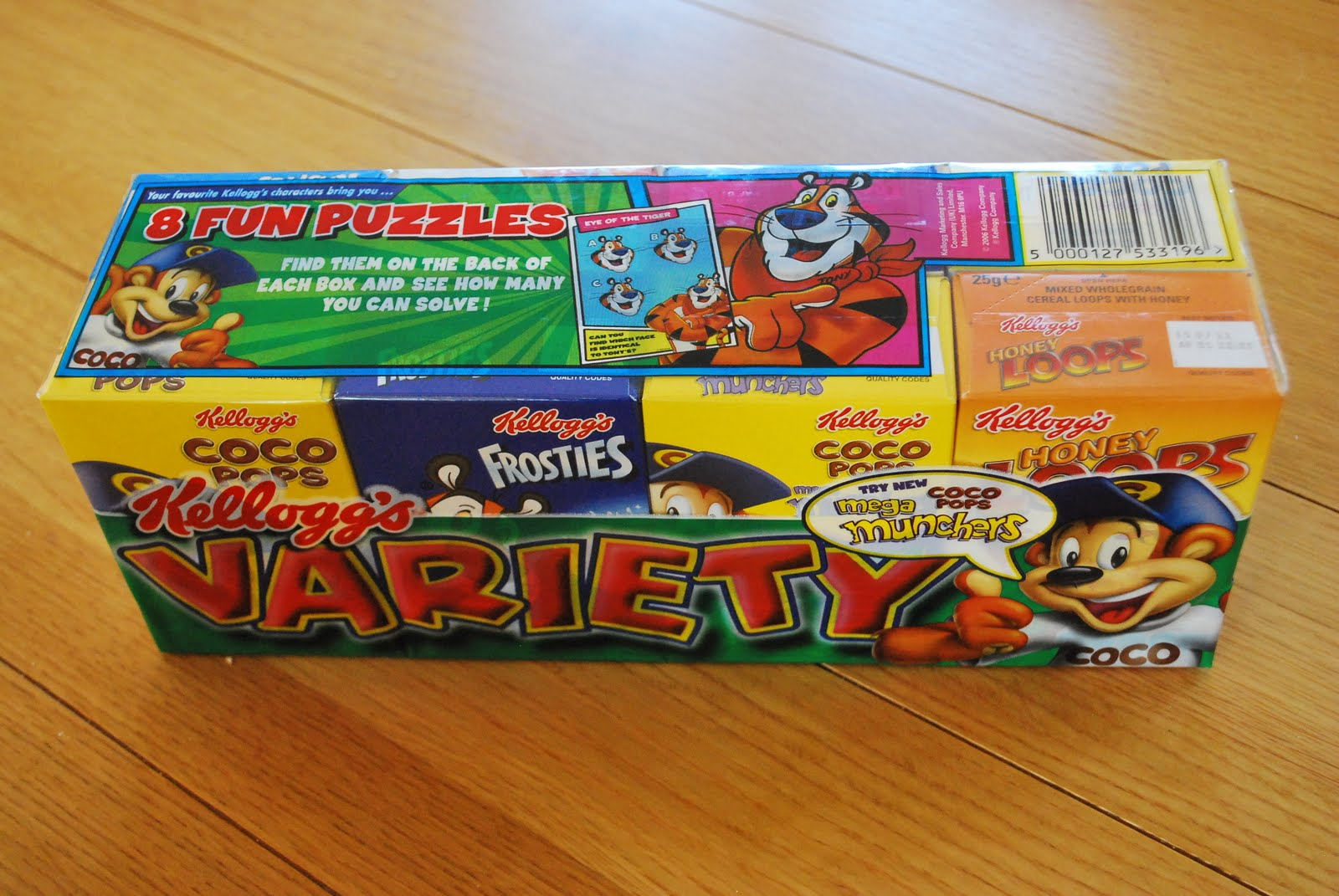 variety cereal