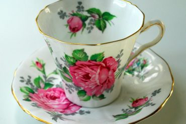 Light Rose Cup and Saucer