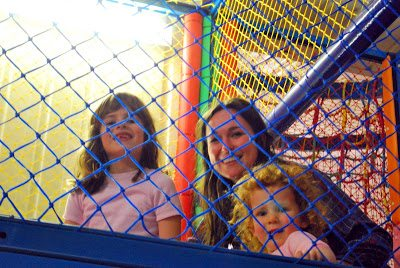 In the play pen