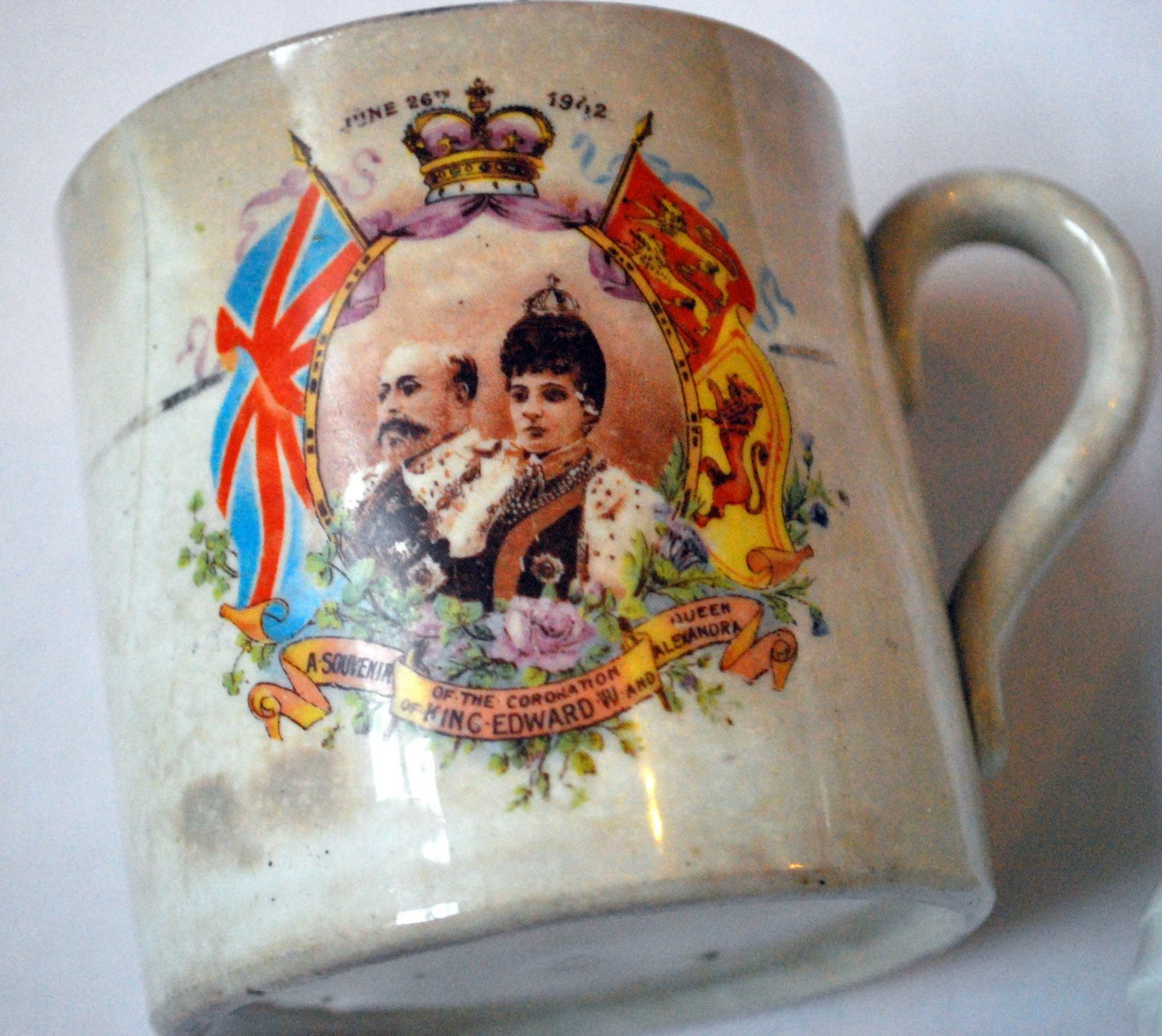 King Edward Coronation Mug
