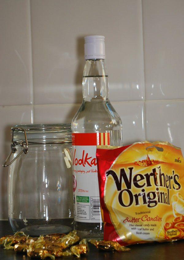 Toffee Vodka Ingredients