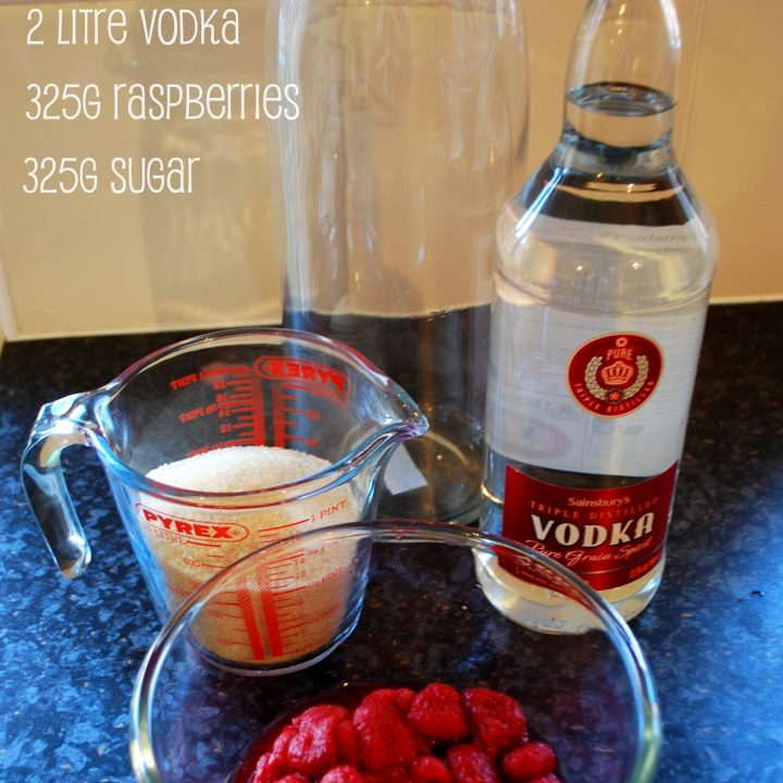 raspberry vodka you will need