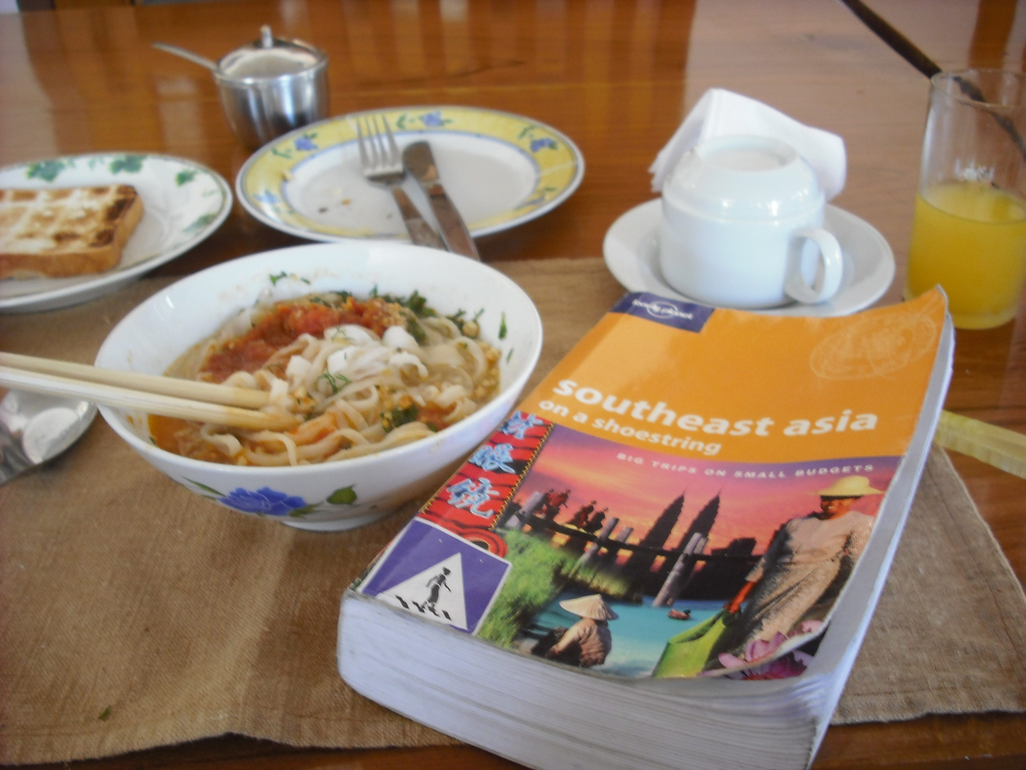 shan noodles and lonely planet