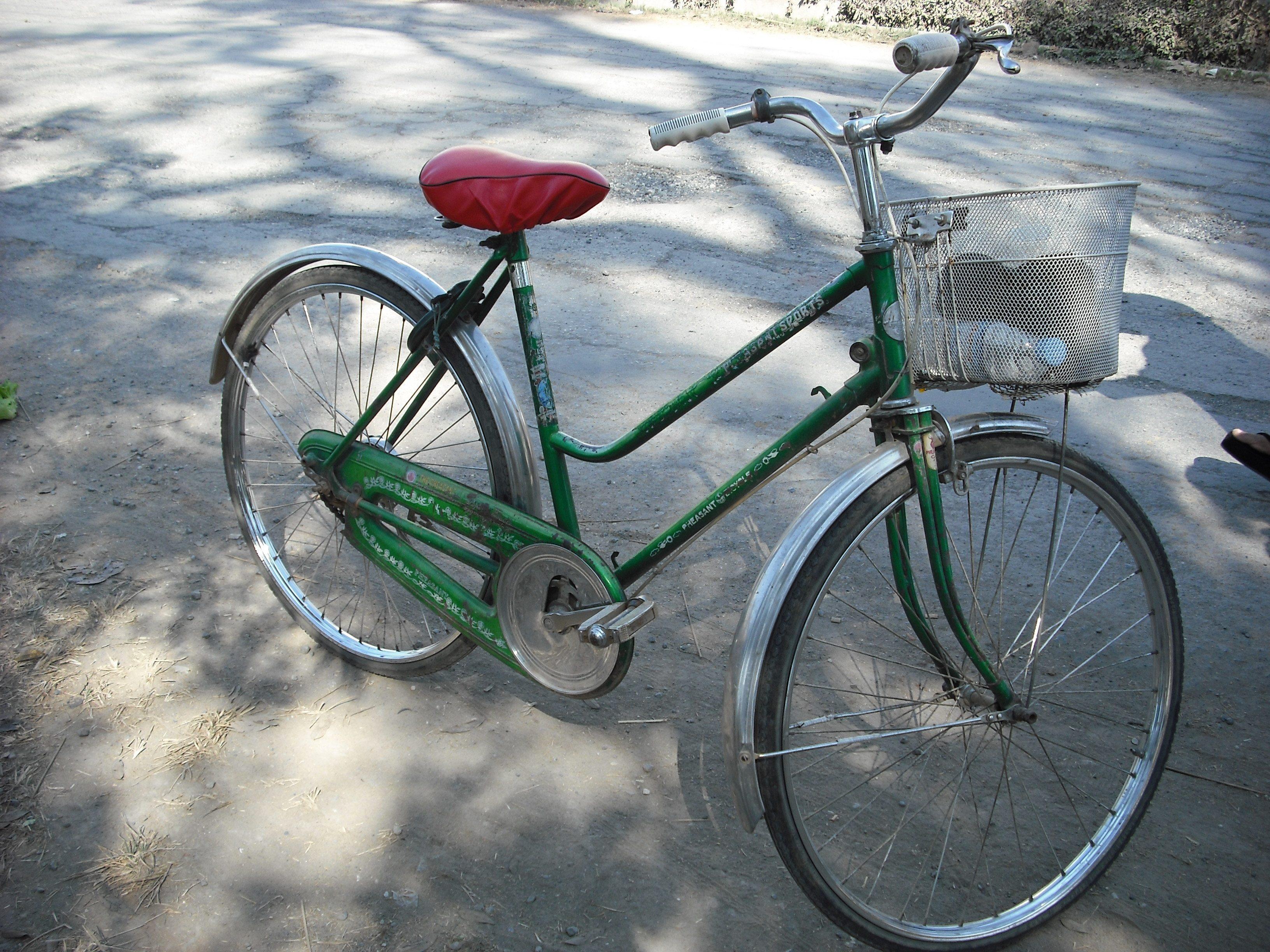 bike in BUrma