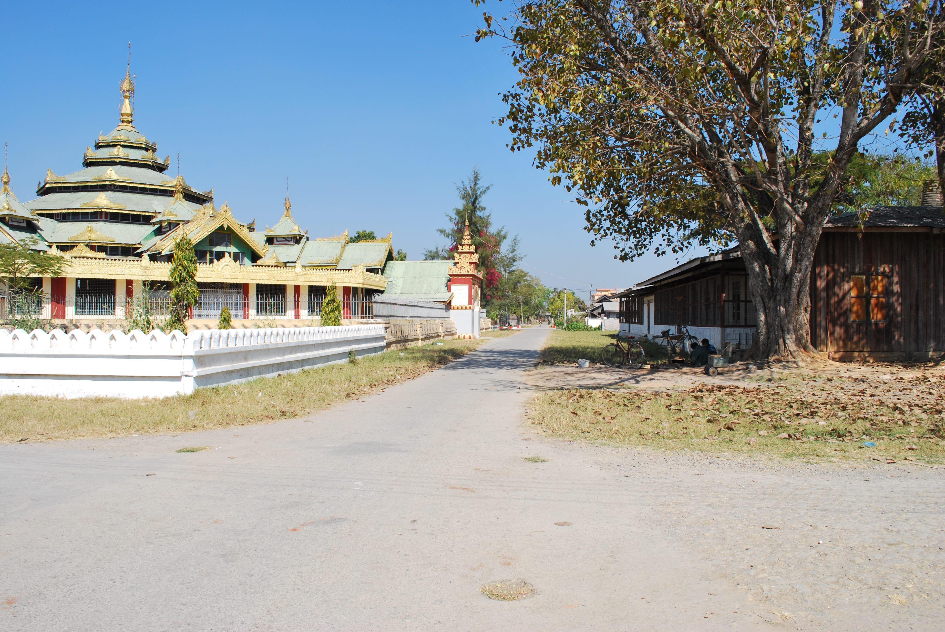streets of nyaung shwe