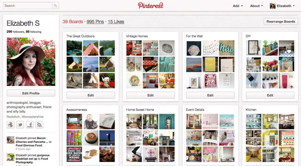 rosalilium pinterest boards