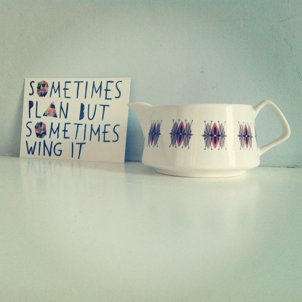 sometimes plan sometimes wing it