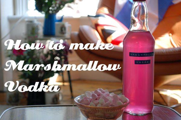 Marshmallow Infused Vodka Recipes — Dishmaps