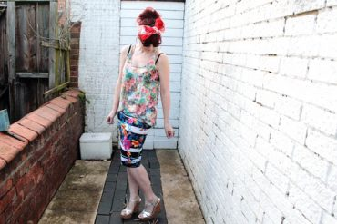 floral clash outfit