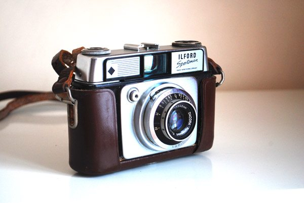 vintage ilford camera