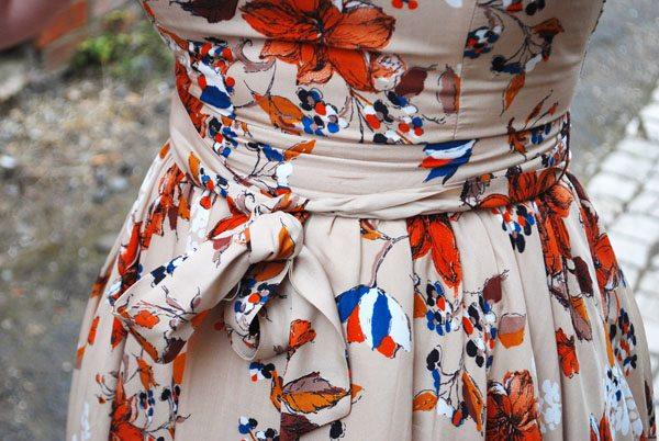 pattern on dress
