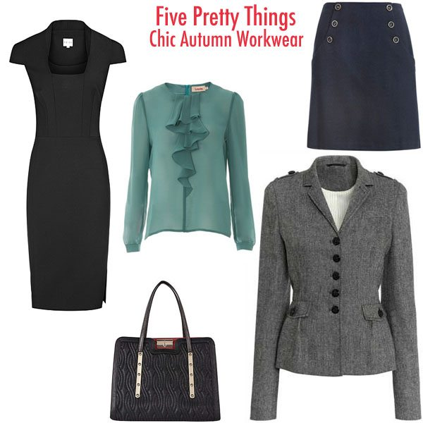 chic sophisticated autumn workwear
