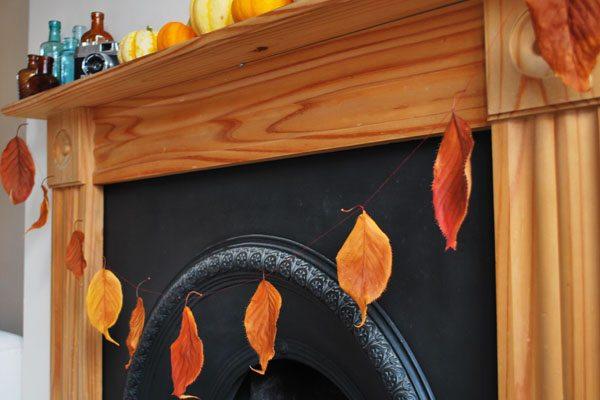 autumn bunting