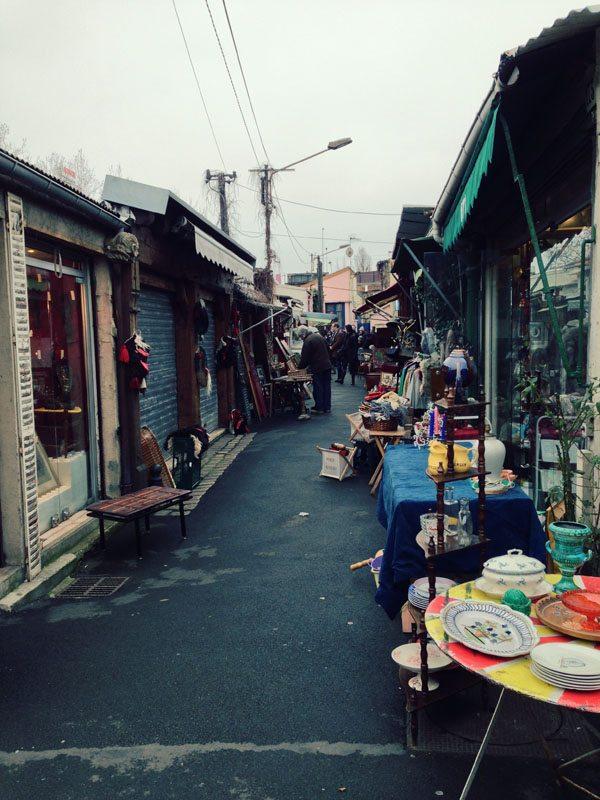 Paris Flea Market - Down the Alleys