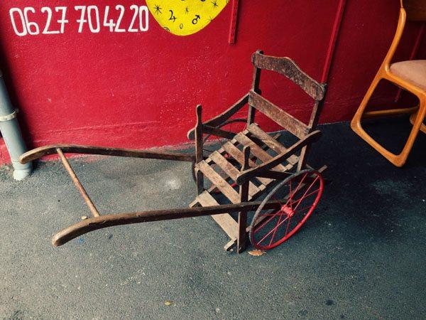 Paris Flea Markets - Antique Pushchair