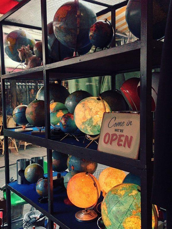Paris Flea Markets - Globes