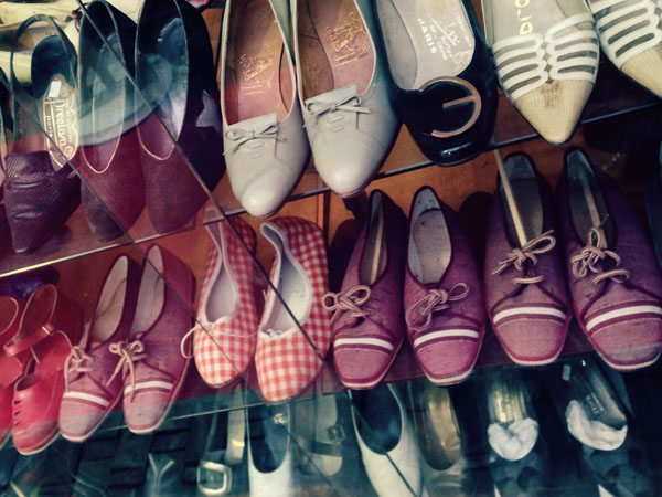 Paris Flea Markets - Vintage Shoes