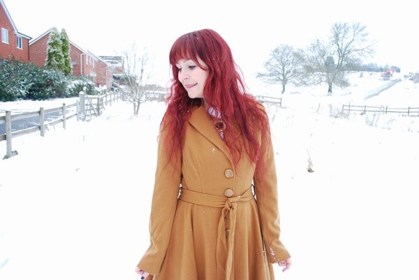 outfit in the snow