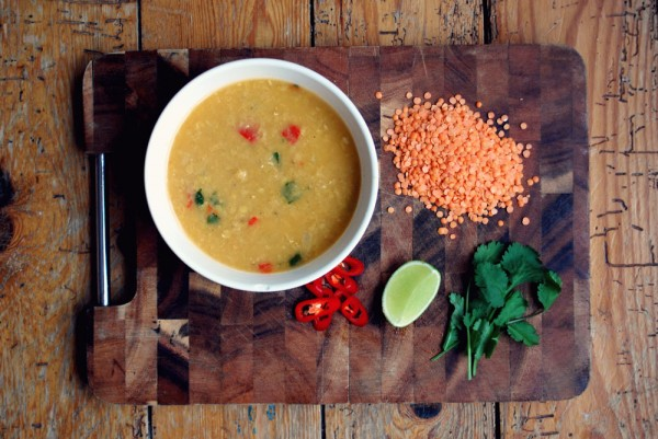 Post image for Recipe: Spicy Lentil and Coconut Soup