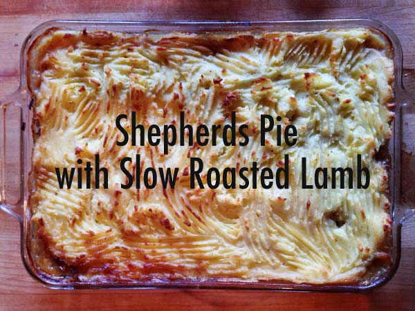 Shepherds Pie with Slow Roasted Lamb