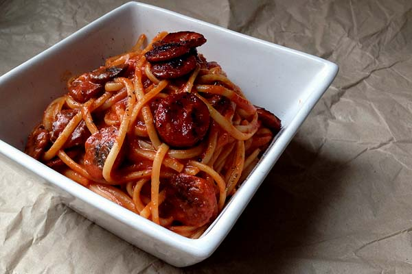 Chorizo Linguine Recipe