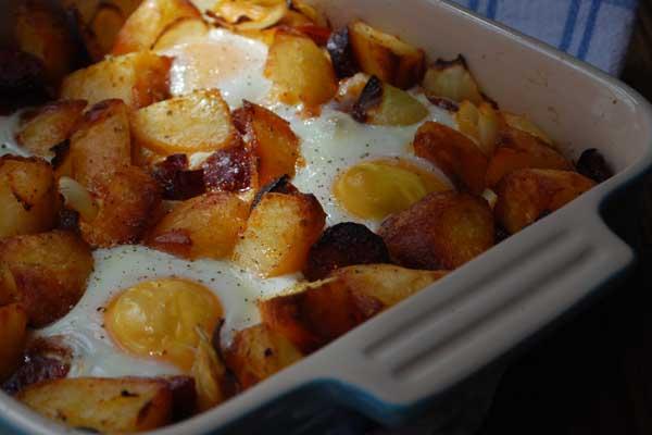 Chorizo and Potato Brunch Hash
