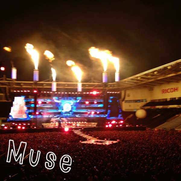 Muse at Ricoh Stadium