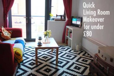 Room Makeover for Under 80 quid