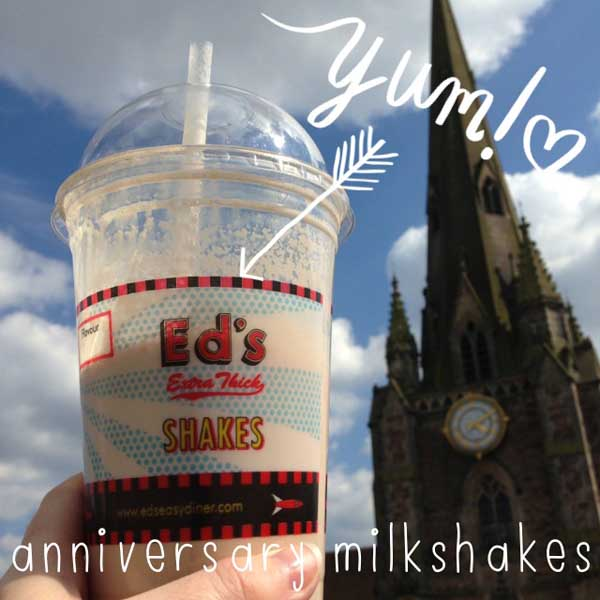 milkshakes in Birmingham