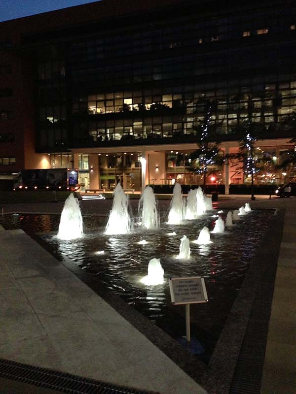 Brindleyplace Fountains