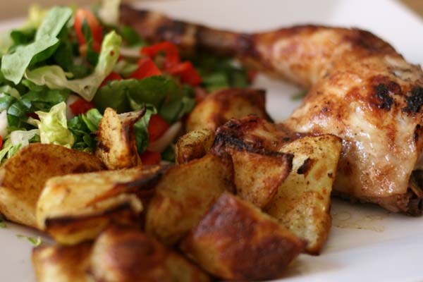 Chicken and Potato Wedges