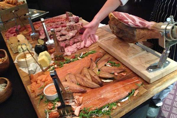 Malmaison Meat and Fish Selection