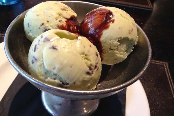 Mint Ice Cream Malmaison
