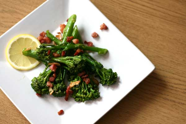 Tenderstem Broccoli with Pancetta