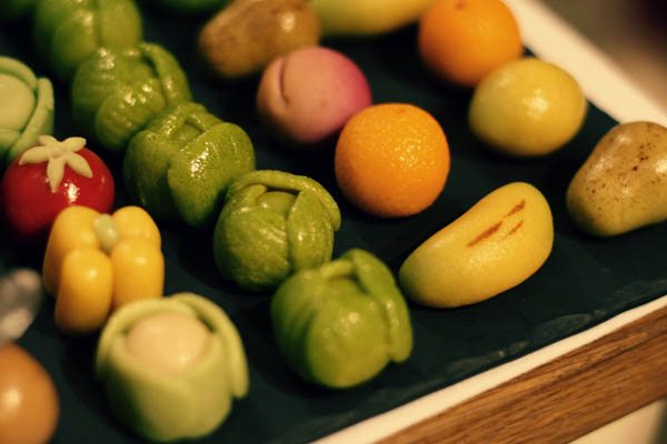 Marzipan Brussels Sprouts