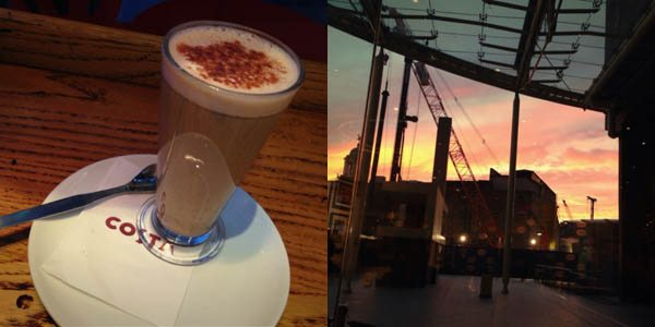 Chai and Sunset