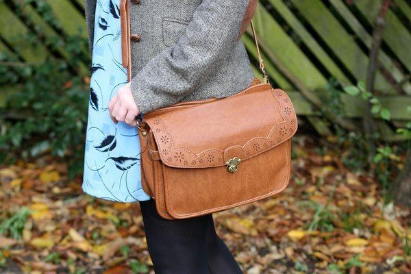 Close up of Nica Bag