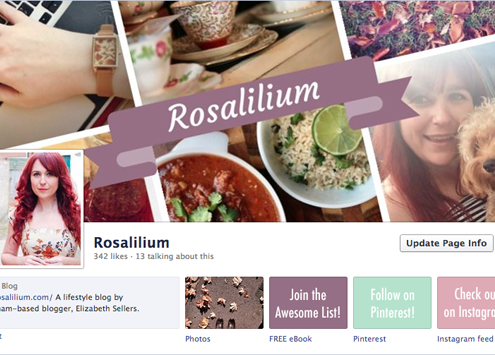 Facebook Page with Customised Tabs