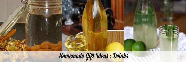 Homemade Gift Ideas Drinks