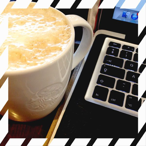 Chai Latte and Blogging