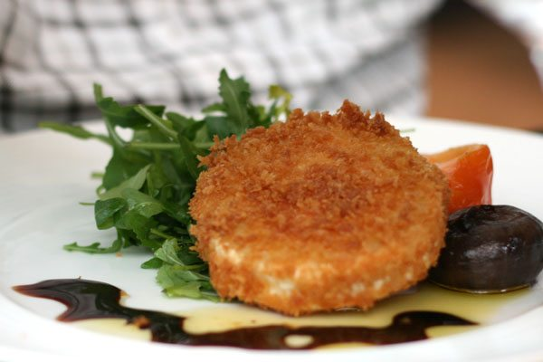 Fried Goats Cheese