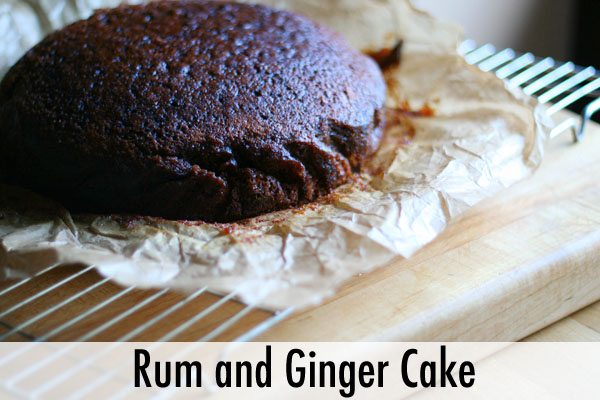 Rum and Ginger Cake