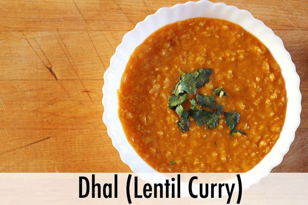 Dhal Lentil Curry